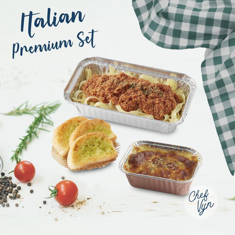 เซ็ทอาหารอิตาเลี่ยน Italian Premium Set